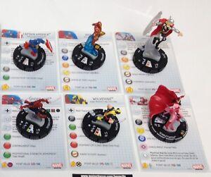 Heroclix-AvX-Avengers-vs-X-Men-set-COMPLETE-6-figure-Avengers-Starter-w-cards