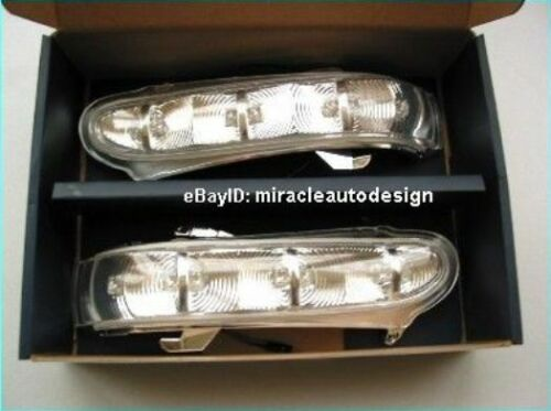 DOOR MIRROR LED TURN INDICATORS FOR 1998-2001 MERCEDES PRE-FACELIFT W220 S-CLASS