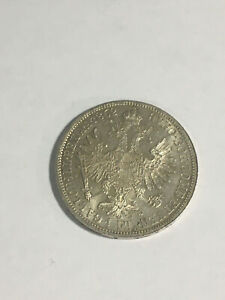 Monnaie Autriche 1 Florin 1862 A ARGENT