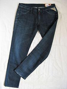 Replay W31 Damen low Slim Taille Denim Fit fuselée l30 X Jambe Stretch Blue Jeans rZrFqwdSX