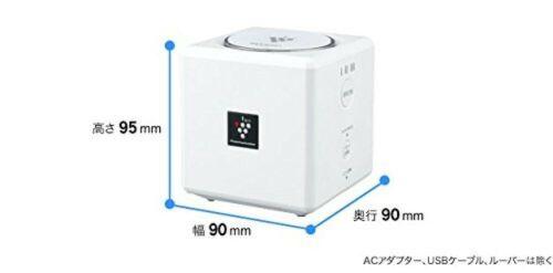 Sharp plasma cluster Ion generator IG-EX20-W multipurpose 1 tatami white JAPAN