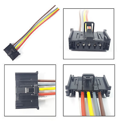 details about fiat ducato, punto resistance plug extension wiring harness  loom 5 pin connector