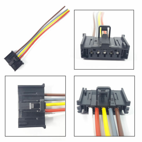 PUNTO RESISTANCE PLUG EXTENSION WIRING HARNESS LOOM 5 PIN CONNECTOR FIAT DUCATO
