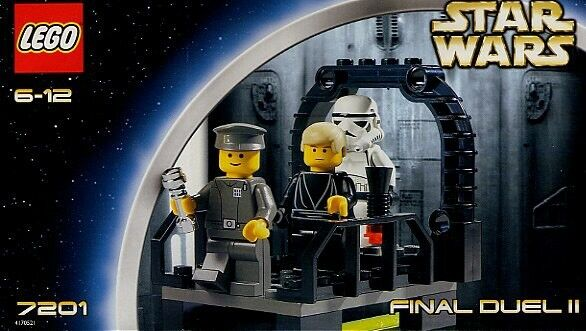 Lego - Star Wars - Final Duel - 7201 - 100% Complete - No Box