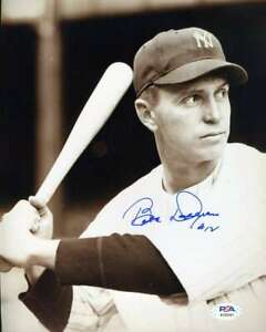 Babe-Dahlgren-PSA-DNA-Coa-Hand-Signed-8x10-Photo-Autograph