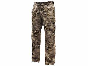 Men's All Purpose 6-Pocket Field Pants RealTree Xtra & MAX Camo Hunting Camping