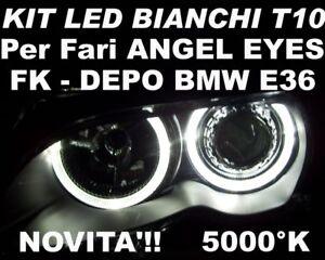 KIT-LED-W5W-BIANCHI-per-fari-ANGEL-EYES-BMW-E36-DEPO-FK