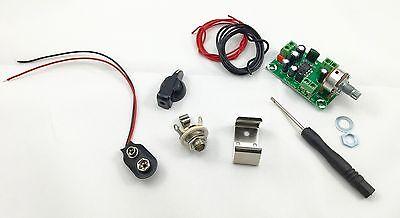 Cigar Box Guitar Amplifier Kit - Battery Powered Guitar Amplifier