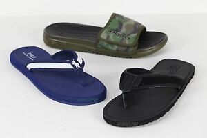 888fe42df69 NWT Polo Ralph Lauren Men s Pony Logo Flip Flops Sandals Slippers ...