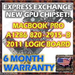 EXCHANGE-MACBOOK-PRO-15-034-A1286-820-2915-B-2011-LOGIC-BOARD-REPAIR-NEW-GPU-REBALL