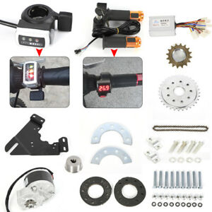 Electric-Bike-Left-Side-Drive-Motor-Kit-Mountain-Bike-Conversion-Custom-250W-24V
