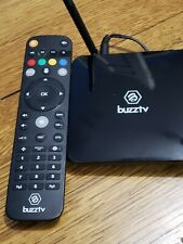 BuzzTV XPL 3000 Carbon Red Android IPTV OTT settop HD 4K TV XPL3000 2018 Edition