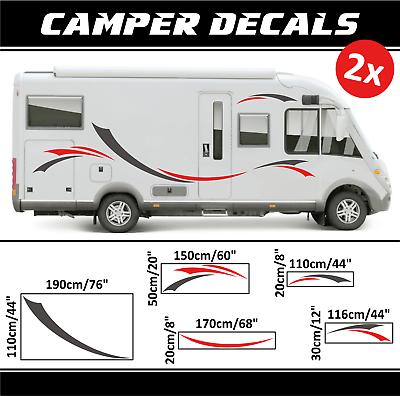 Camper Aufkleber Wohnmobil sticker Dekoration decals niewiadow karmann bailey