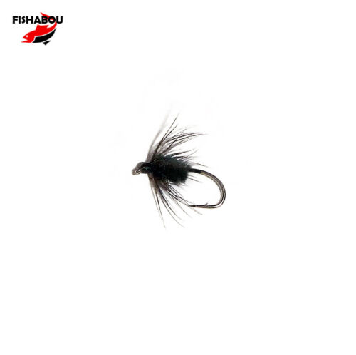 sizes 14 to 18 TROUT BLACK NORTH COUNTRY SPIDER starling peacock
