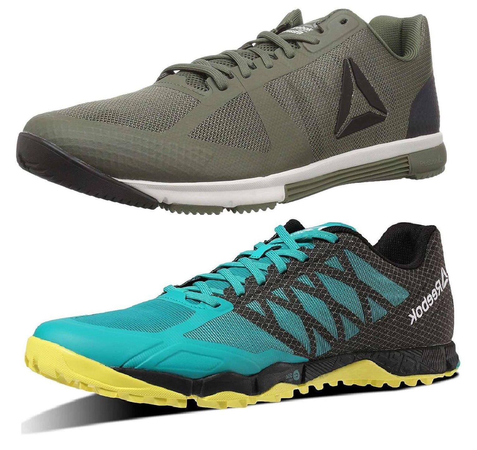 Reebok para hombre Athletic R Velocidad de nuevos Zapatos de Entrenamiento de Crossfit Zapatillas Entrenador De Campo