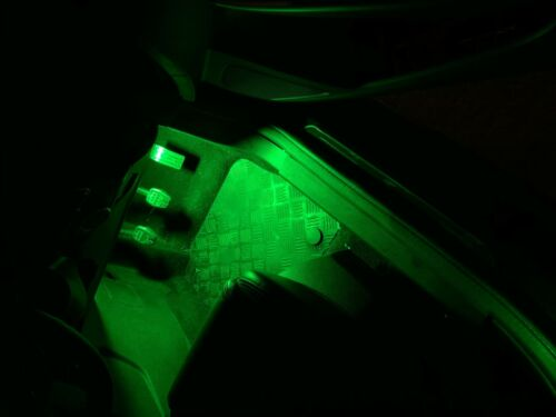 FORD FOCUS MK3 ST /& RS INTERIOR FOOTWELL LED 48 SMD LIGHT PANEL UPGRADE