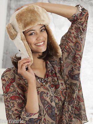 2019 Moda Inverno Caldo Trapuntato Pelliccia Trapper Cappello Russo Cosacco Taglia Unica Regolare/900-mostra Il Titolo Originale