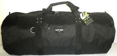 "Black 36"" Roll Shaped Cargo Sports Bag Duffel Travel Camping Huge Duffelbag Big"
