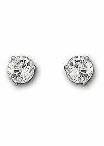 Swarovski Crystal Solitaire Pierced Earrings 1800046