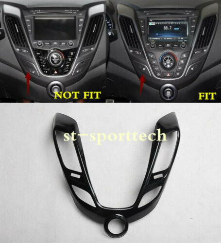 FOR Hyundai Veloster 2011-2016 ABS Interior Middle Console Panel Cover Trim