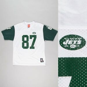 buy online cc9d7 5054f Details about BOYS YOUTHS REEBOK NEW YORK JETS JERSEY NFL SHIRT AMERICAN  FOOTBALL 14 16 YEARS