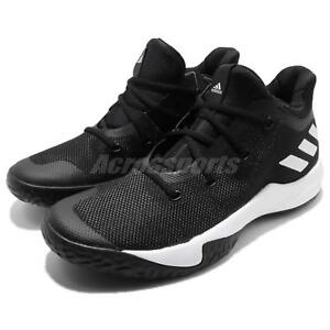 adidas Rise Up 2 II White Black Men Basketball Shoes Sneakers ... ffe6acfda