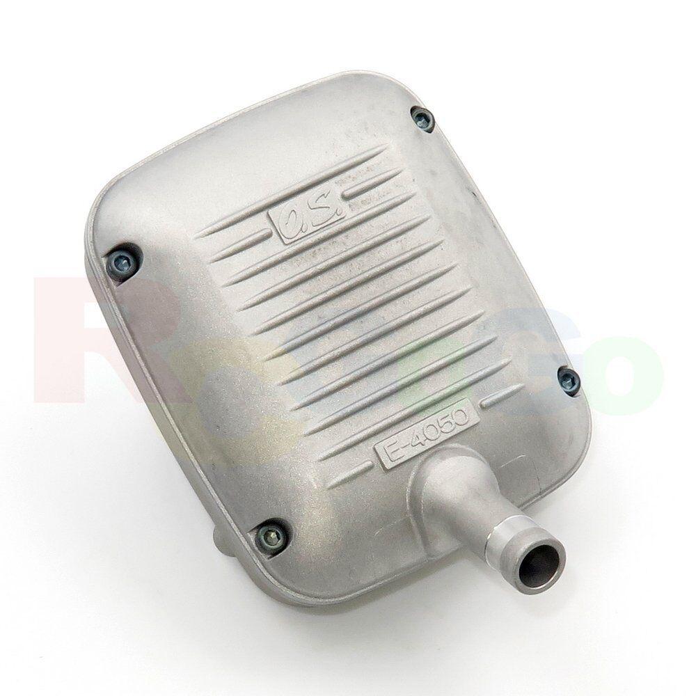 SILENCER E-4050 65AX   OS27426000 O.S. Engines  Genuine Parts  100% nuovo di zecca con qualità originale