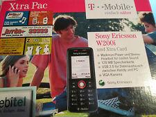 Sony Ericsson W 200i Walkman OVP 2 GB Simfrei Zubehörpaket gebraucht Nr. 55 E