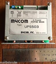 Mycom Ups503 5 Phase Stepping Motor Driver Stepper Vexta 24 36vdc Ups503 0