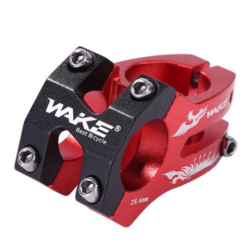 WAKE Bicycle Stem Balance Walking Bike Stem Bicycle Accessories Black Red Red