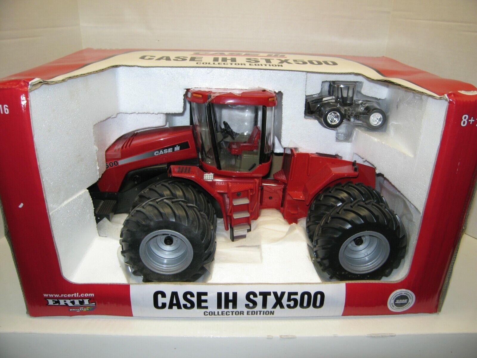 1 16 CASE I-H STX500 COLLECTOR EDITION w  1 64 CHROME NIB free shipping