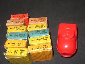 WALT-DISNEY-1940-039-s-MICKEY-MOUSE-FILM-VIEWER-SET-CRAFTMEN-039-S-GUILD-11-FILMS