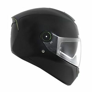 NEW-SHARK-Helm-Skwal-mit-LED-schwarz-matt-Gr-XS-53-54-Motorradhelm-Sonnenblende