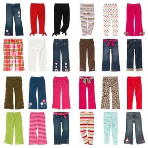 NWT-GYMBOREE-Kids-Girl-Jeans-Leggings-Pants-Capri-Adjustable-or-Elastic-Waist