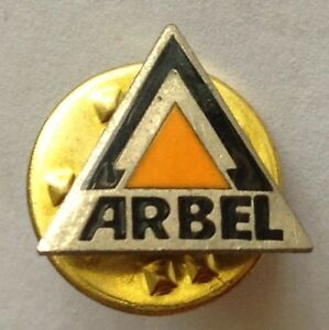 Arbel-Brand-Tiny-Pin-Badge-Rare-Vintage-Advertising-F9