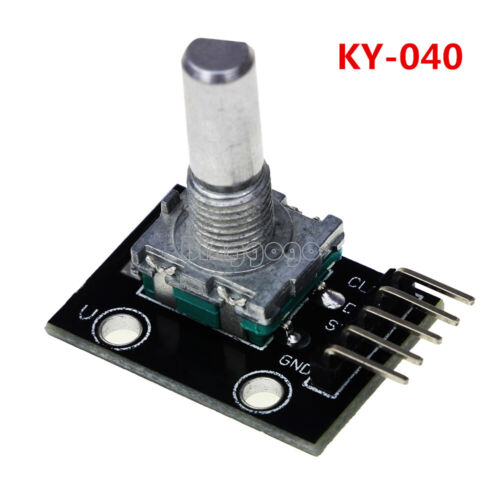 10PCS KY-040 Rotary Encoder Module Brick Sensor Development Board For Arduino