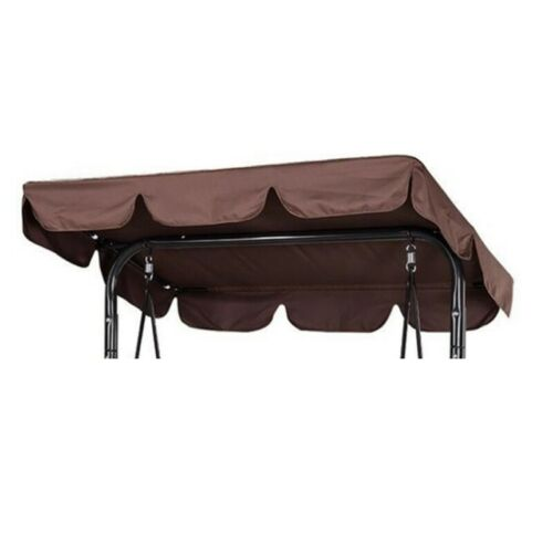 Outdoor Canopy Swing Chair Top Cover Backyard Awning for 2//3 Person Patio Chair
