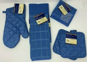 Kitchen Potholders with Matching Towel Set