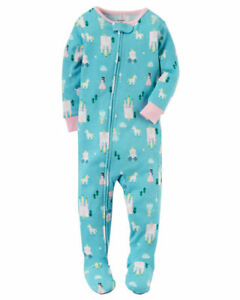 ab3e50e87 Carter s Fairy Tales Princess One-Piece Knit Sleeper Pajamas Baby ...