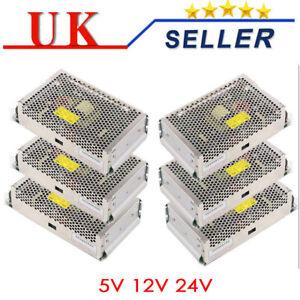 Universal DC 5V 12V 24V Regulated Switching Power Supply for LED Strip CCTV PSU