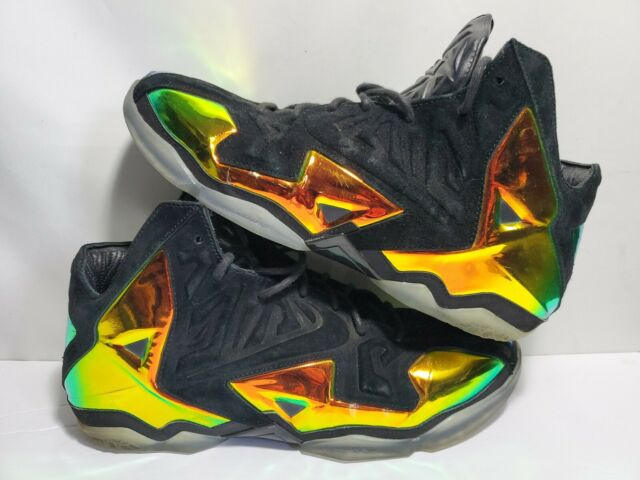 Nike Lebron XI 11 EXT QS Kings Crown Sz