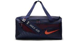 3a10d4b8e717 Nike Vapor Max Air Syracuse Orange Team Training Duffle Bag NEW ...