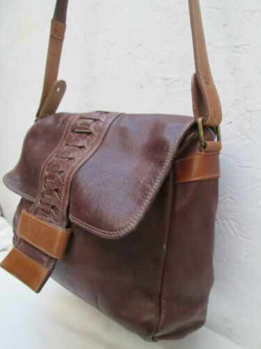 Main Tbeg Marianelli Bag À Cuir Vintage Authentique Sac Rq1wZx77