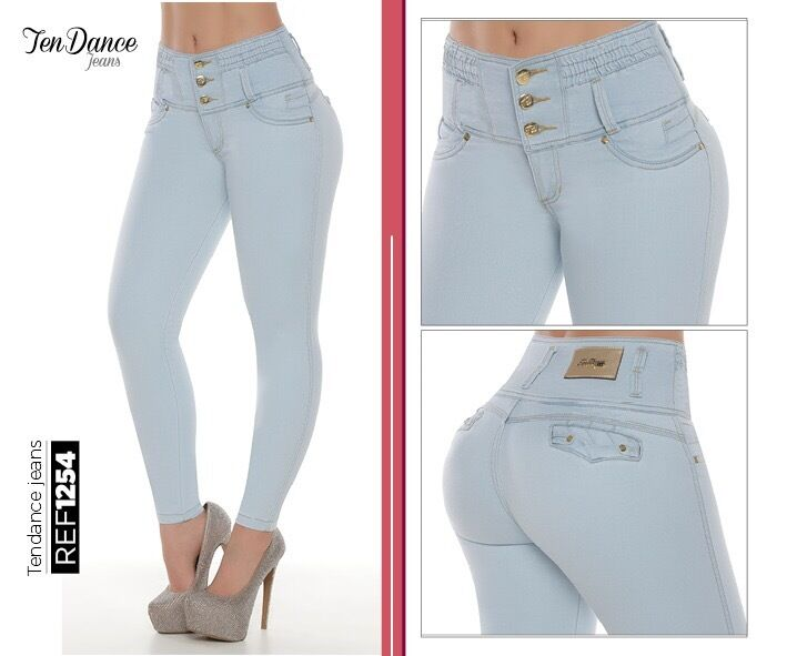 Jeans colombianos butt lifter fajas colombianas jeans levanta cola pompi 1254