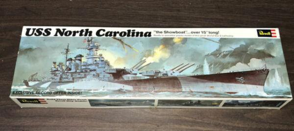 1960s70s USS North Carolina Battleship Souvenir Brooch