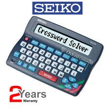 Seiko ER3700 Oxford crucigrama solucionador de Diccionario Corrector Ortográfico Electrónica Escritorio