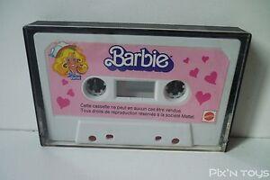 """Cassette Audio promotionnel K7 Tape """"Club des amies de Barbie"""" / Mattel [ Neuf ]"""