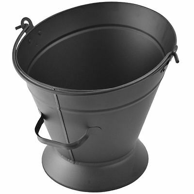 Cheviot Waterloo Coal Bucket Hod Scuttle Fireside Place Black Accessory Fire