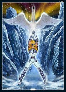 5 Affiche Saint Seiya Art Édition Limitée Numéroté Alexandre Tuis Et Racchius Promouvoir La Production De Fluide Corporel Et De Salive