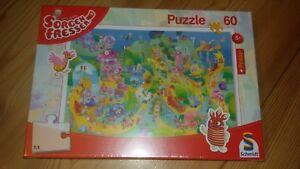 60-Teile-Puzzle-Sorgenfresser-Auf-die-Plaetze-fertig-los-Schmidt-56169-NEU